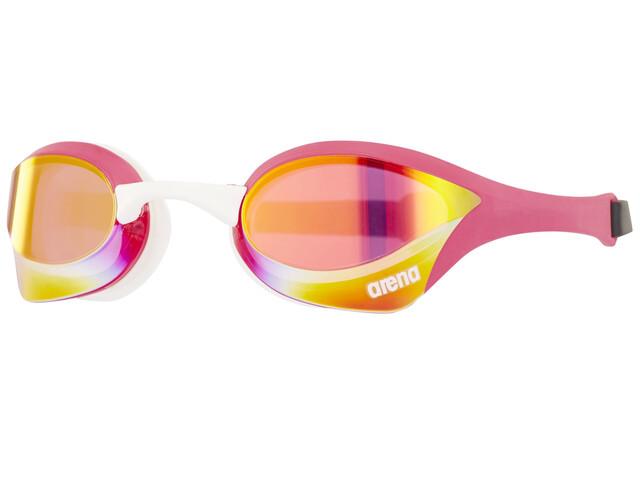 arena Cobra Ultra Mirror Svømmebriller, pink revo-pink-white